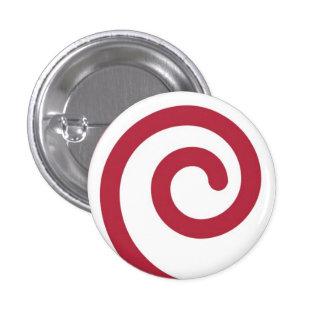 Candy Cane Martzkin Christmas Button