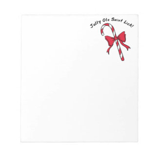 Candy Cane Notepad