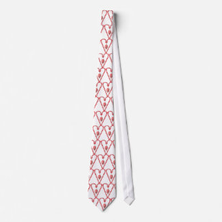 CANDY CANE & ORNAMENT  by SHARON SHARPE Tie