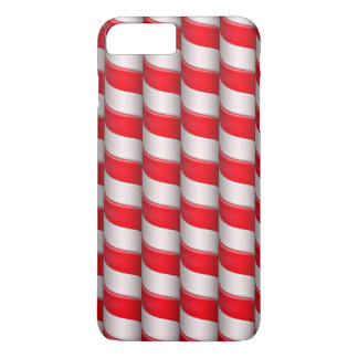 Candy cane pattern iPhone 7 plus case