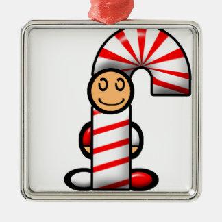 Candy Cane (plain) Christmas Ornament