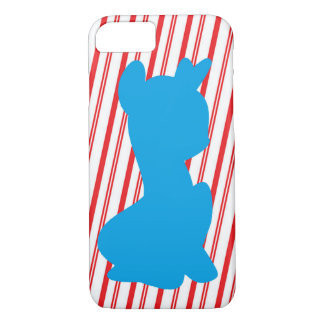 Candy cane Pony iPhone 8/7 Case
