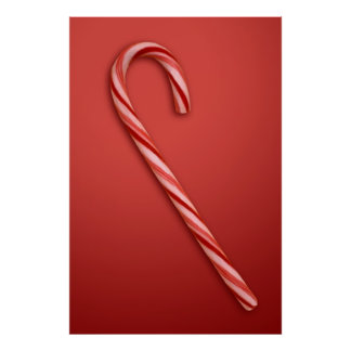 Candy Cane Posters