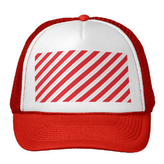 Candy Cane Red Stripes Cap