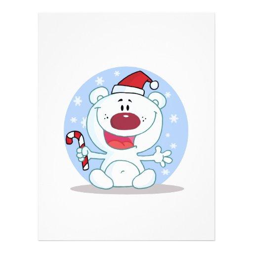 candy cane santa polar bear silly flyers