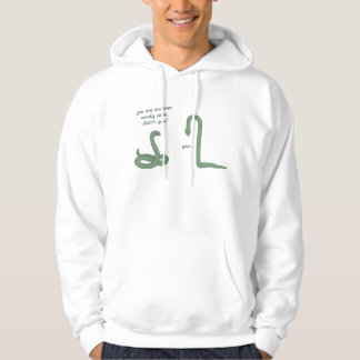 Candy Cane Snake Hoodie