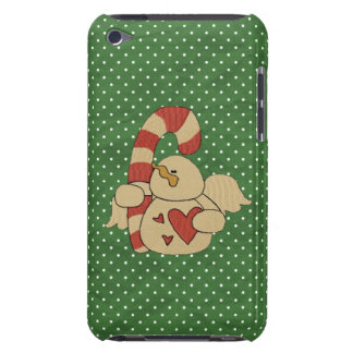 Candy cane snowman angel iPod Touch cover