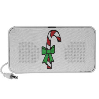 Candy Cane iPhone Speakers
