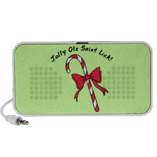 Candy Cane Portable Speaker