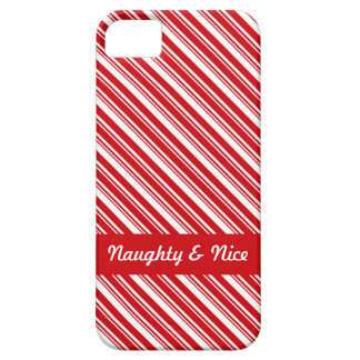 Candy Cane Stripes Barely There iPhone 5 Case