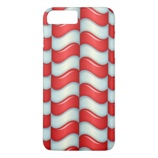 Candy cane stripes pattern iPhone 7 plus case