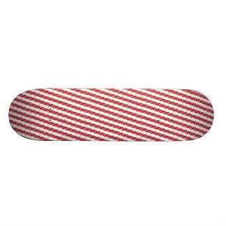 Candy Cane Stripes Skate Boards