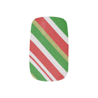 Candy Cane Strips Minx Nails Minx Nail Art