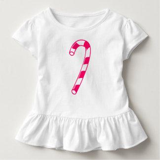 Candy Cane Toddler Ruffle Dress