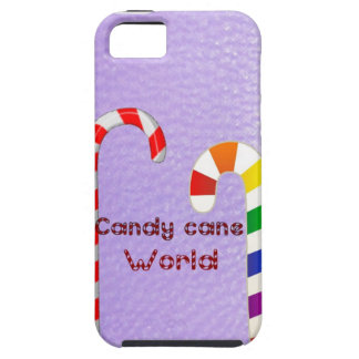 Candy cane world iPhone 5 cover