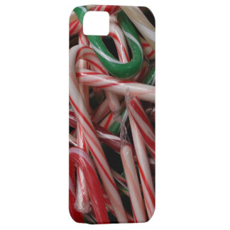 Candy Canes Christmas Holiday White Green and Red iPhone 5 Covers