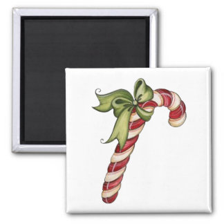Candy Canes Christmas magnet