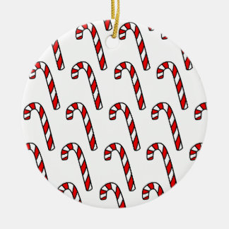 Candy Canes Christmas Ornament