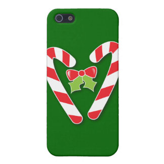 Candy Canes for Christmas iPhone 5 Cases