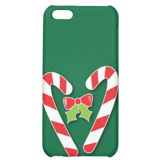 Candy Canes for Christmas Cover For iPhone 5C