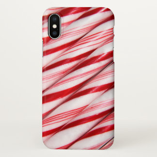 Candy Canes iPhone X Case