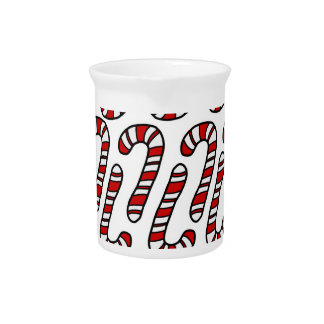 Candy Canes Pitcher