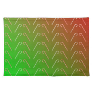 Candy Canes Placemat