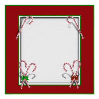 Candy Canes Poster