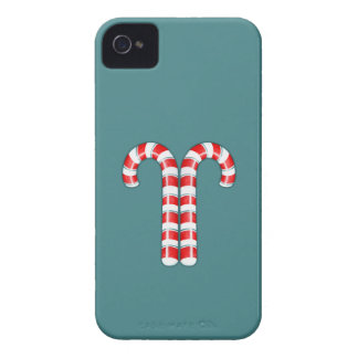 Candy Canes red BlackBerry Bold Case-Mate