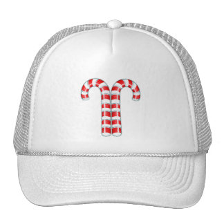 Candy Canes red Hat