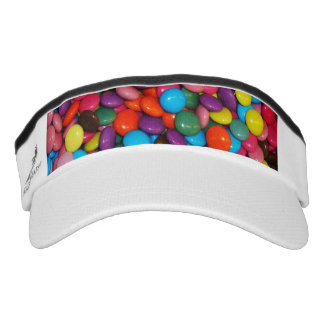 Candy cased choclate buttons Texture Template Visor