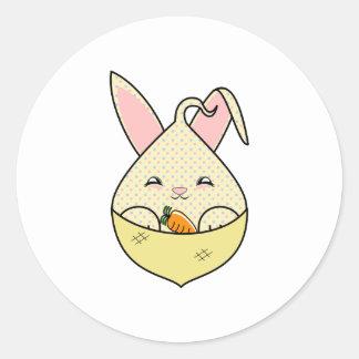 Candy Chip Hopdrop Mini Cone Classic Round Sticker