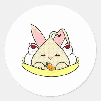 Candy Chip Hopdrop Split Round Sticker