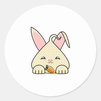 Candy Chip Hopdrop Round Stickers