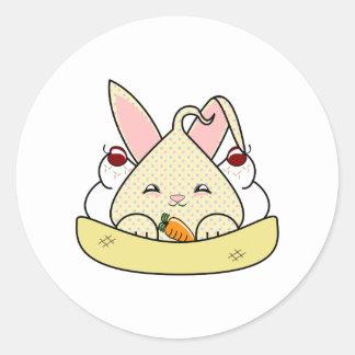 Candy Chip Hopdrop Sundae Round Sticker