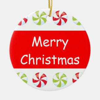 Candy Christmas Christmas Ornament