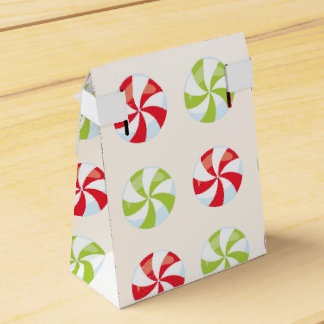 Candy Christmas Favour Box