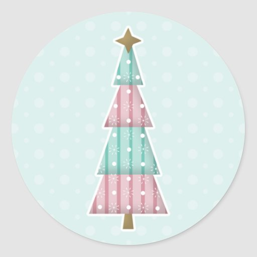 Candy Christmas Stickers