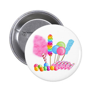 Candy Circus 6 Cm Round Badge