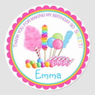 Candy Circus Stickers