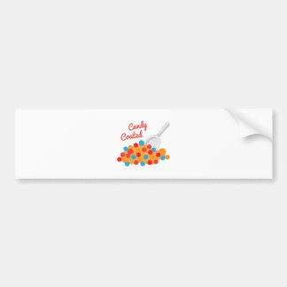 Candy Coated Bumper Sticker
