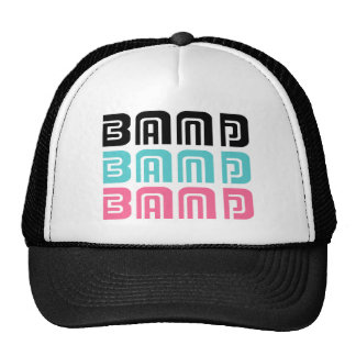 Candy Color Marching Band Music Gift Mesh Hats