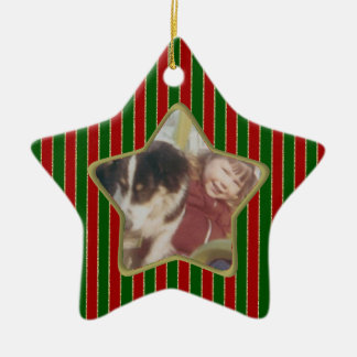 candy color Photo ornament