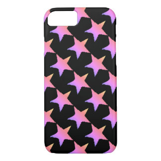 Candy colored star pattern iPhone 8/7 case