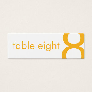 Candy Colors Mini Guest Seating Card