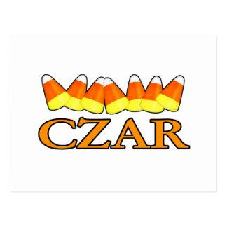 Candy Corn Czar Postcard