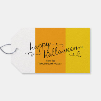 Candy Corn Halloween Gift Tags