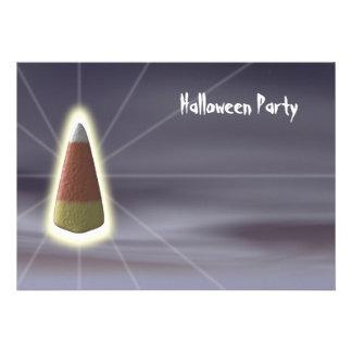 Candy Corn - Halloween Party Invitation