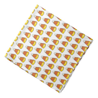 Candy Corn Halloween Thanksgiving Trick or Treat Bandana