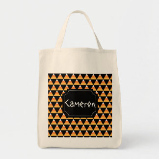 Candy Corn Halloween Tote Bag